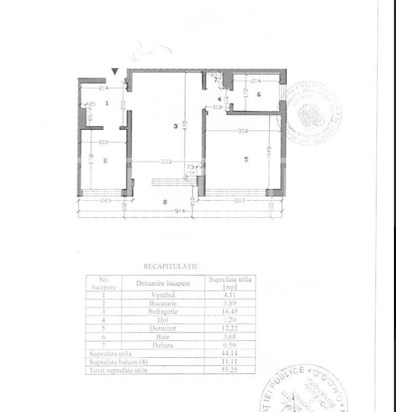 Obor vanzare apartament zona ACR