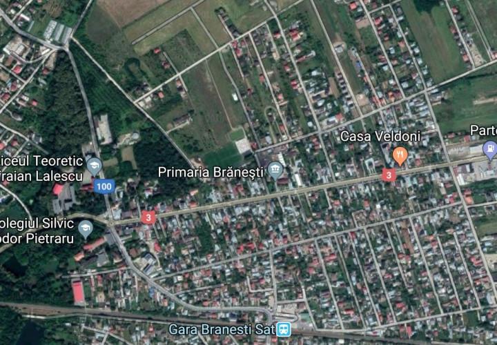 Vanzare lot casa Branesti zona Mega Image