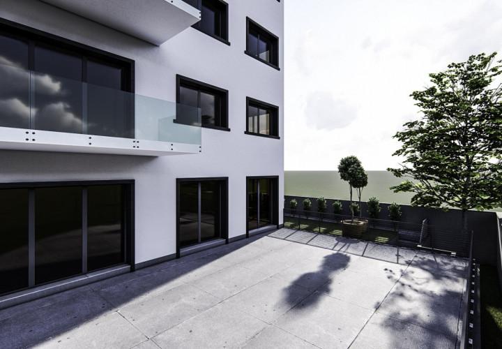 Apartamente cu spatii verzi langa Manastirea Casin