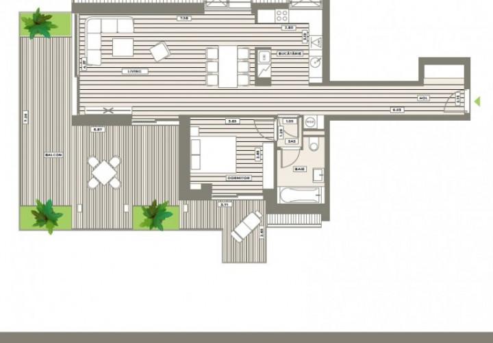 2 camere cu terasa Your Next Home Aviatiei