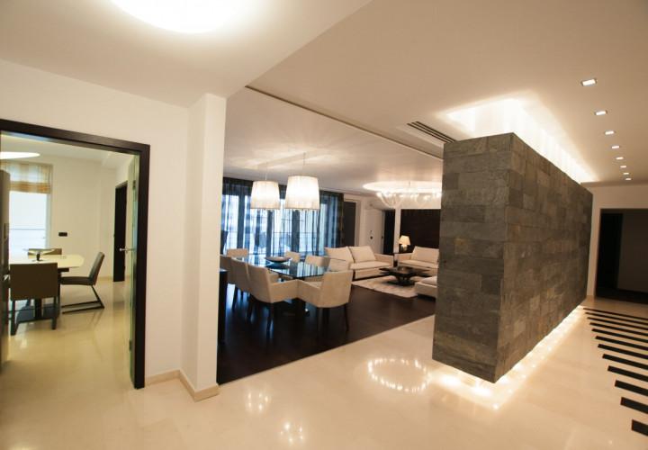 Herastrau apartament 4 camere finisaje premium si mobila lux