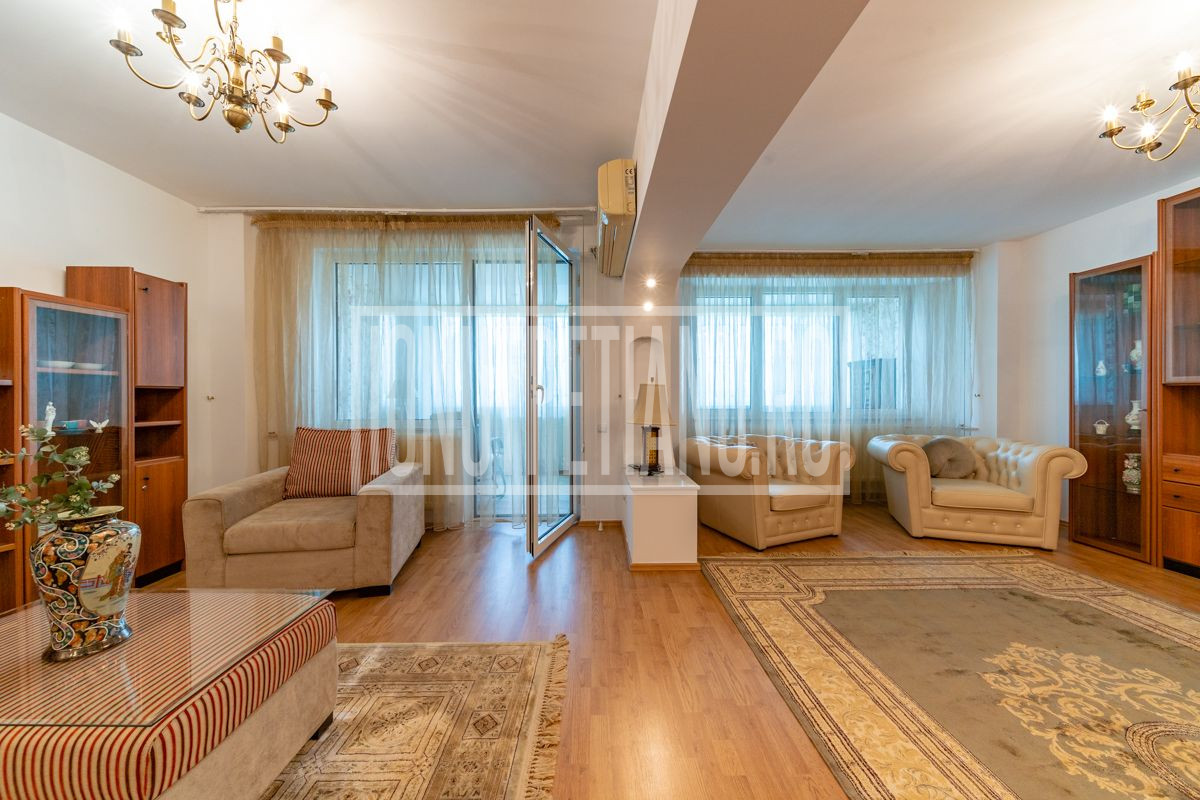 Apartament 4 camere transformat in 2, 120mp, ultracentral cu finisaje de top