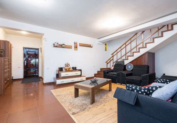 Vila Cernica P+1+M, cu garaj, mobilata si utilata, mutare imediata!