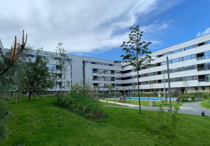 Apartament cu 3 camere, logie, etaj 3/4, Bloc nou P+4 Etaje, Bucurestii noi