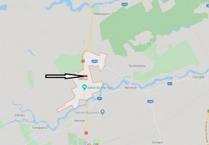 Vanzare teren intravilan 5 ha, Balotesti, Saftica, DN1