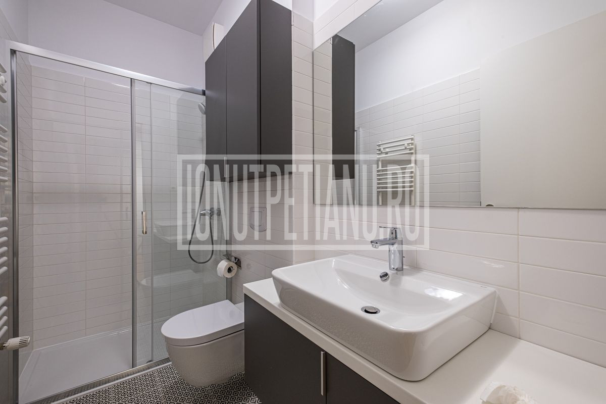 3 room, 2 bedroom luxury apartment with garden in northern Bucharest Aviatiei